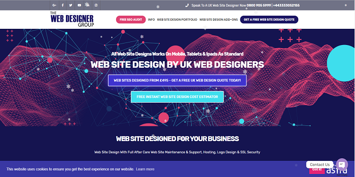 The Roles of Web Designers as well as site design uk