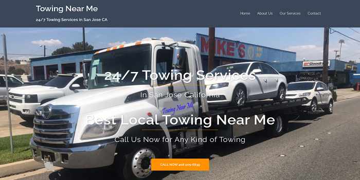 towing san jose